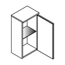 Lanzet Ergänzungsschrank Unterschrank / Hängeschrank - 30 cm Skizze