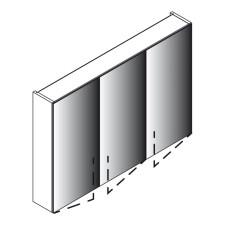 Lanzet Spiegel Spiegelschrank L0 - 100 cm