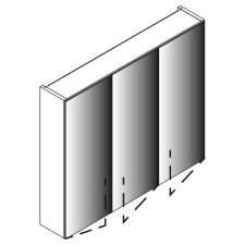 Lanzet Spiegel Spiegelschrank L0 - 80 cm