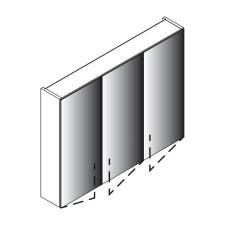 Lanzet Spiegel Spiegelschrank L0 - 90 cm