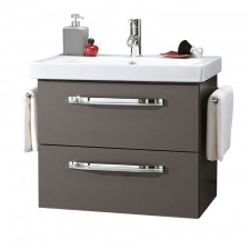 Marlin Bad 3060 Waschtisch mit Unterschrank Set 1 anthrazit