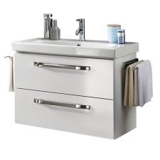 Marlin Bad 3060 Waschtisch mit Unterschrank Set 2 weiß