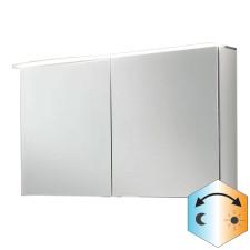 Marlin Bad 3090 - Cosmo Spiegelschrank - 120 cm, mit 2 Spiegeltüren