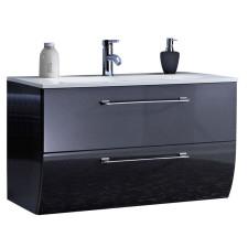 Marlin Bad 3130 - Azure Waschtisch und Unterschrank Set 80 cm