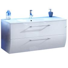 Marlin Bad 3130 - Azure Waschtisch und Unterschrank Set 100 cm