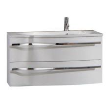 Marlin Bad 3160 - Motion Waschtisch und Unterschrank Set 90 cm