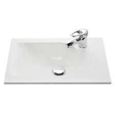 Marlin Gästebad 3010.1 Sky Mineralmarmor-Waschtisch 50 cm