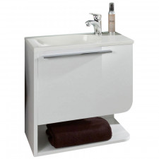 Marlin Gästebad 3010.1 Waschtisch mit Unterschrank Set 50 cm