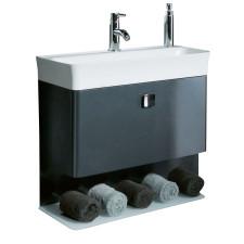 Marlin Gästebad 3010.2 Waschtisch mit Unterschrank Set 60 cm