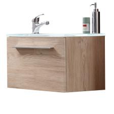 Marlin Gästebad 3010.5 Waschtisch mit Unterschrank Set 50 cm