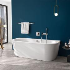 badshop.de Premium Design Oval-Badewanne - 180 cm Ambiente