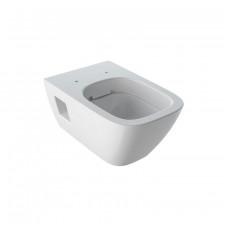 Geberit Renova Plan Wand-WC teilgeschlossene Form, Rimfree, weiß- B: 350 H: 330 T: 540