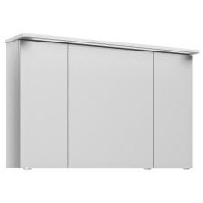 Pelipal Serie 4005 Spiegelschrank - 122 cm, LED-Kranzbeleuchtung, 3 Drehtüren, 6 Glaseinlegeböden- B: 1220 H: 722 T: 240