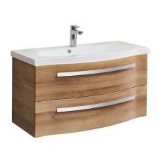 Pelipal Fokus 4005 Waschtisch mit Waschtischunterschrank Set 92 cm