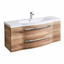 Pelipal Fokus 4005 Waschtisch mit Waschtischunterschrank Set 117 cm