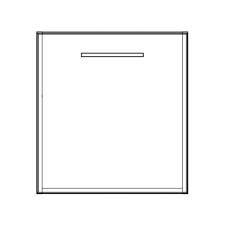 Pelipal PCON Unterschrank 45 cm Skizze