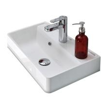 Pelipal Solitaire 6905  Mineralmarmor-Waschtisch - 52 cm - Becken rechts