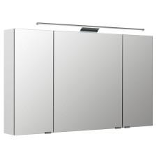 Pelipal Spiegelschränke Spiegelschrank - 120 cm, 3 Drehtüren, doppelt verspiegelt, inkl.  LED-Aufsatzleuchte, 6 Glaseinlegeböden- B: 1200 H: 703 T: 160