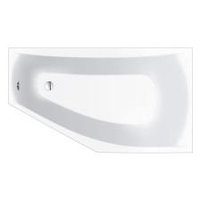 Repabad Arosa Eck-Badewanne - 160/90 links - Acryl - ca. 160 Liter