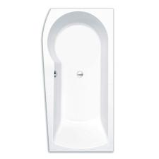 Repabad Arosa shower Raumspar-Badewanne - 170 rechts - Acryl - ca. 240 Liter