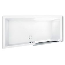 Repabad Easy-in Badewanne mit Tür - 180 rechts Nische - Acryl, weiß