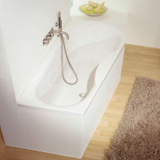 Repabad Tika Raumspar-Badewanne - 160 links - Acryl - ca. 110 Liter - Beispiel