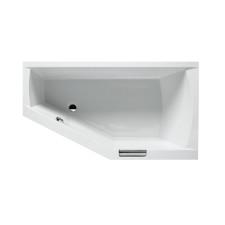 Riho Raumspar-Badewanne Geta Links - Acryl - 160 x 90 cm, Weiß