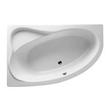 Riho Raumspar-Badewanne Lyra Rechts - Acryl - 140 x 90 cm, 120 Liter, Weiß