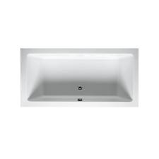 Riho Rechteck-Badewanne Lusso - Acryl - 180 x 80 cm, Farbe: Weiß
