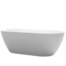 Riho Freistehende Badewanne Bilbao - Solid Surface - 170 / 80, weiß matt