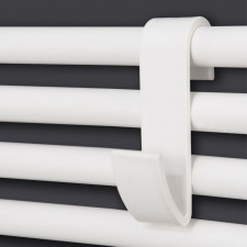 Corpotherma Zubehör Handtuchhalter / Handtuchhaken - weiß