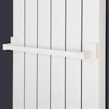 Corpotherma Zubehör Handtuchhalter magnetisch - weiß 400 mm für Panio Serie