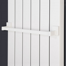 Corpotherma Zubehör Handtuchhalter magnetisch - weiß 500 mm für Panio Serie