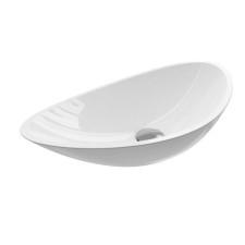 Treos Waschbecken und Wannen Aufsatz-Waschtisch - 56 cm, ohne Hahnloch