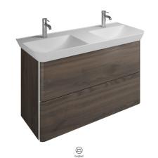 Burgbad Iveo Waschtisch mit Unterschrank