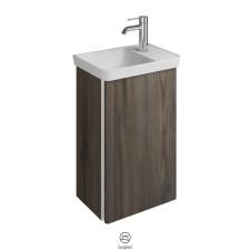 Burgbad Iveo Gäste Bad Waschtisch mit Unterschrank Links