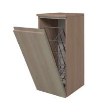 Puris Ace Highboard mit Wäschekippe und Abdeckplatte offen 30 cm