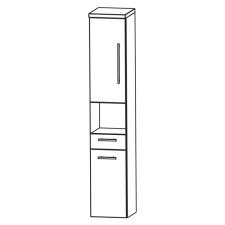 Puris Classic Line Hochschrank 30 cm Skizze
