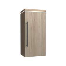 Puris Cool Line Highboard 40 cm, mit 1 Tür, 1 Dekorplatte