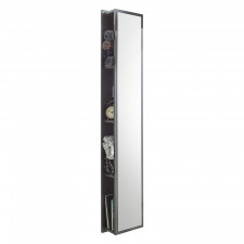 Puris Cool Line Hochschrank - 30 cm, mit Spiegelfläche