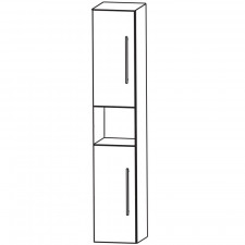 Puris Fine Line Hochschrank - 30 cm Skizze