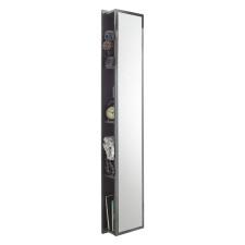Puris Fine Line Hochschrank - 30 cm, mit Spiegelfläche