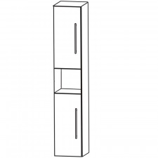 Puris Fine Line Hochschrank - 40 cm Skizze