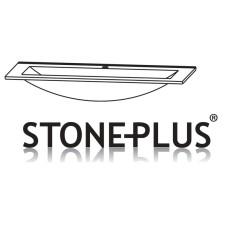 Puris Fine Line Möbelwaschtisch - 92 cm, STONEPLUS weiß Skizze