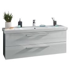 Puris Fine line Waschtisch mit Unterschrank Set 6 125 cm