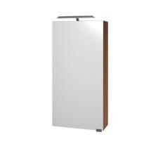 Puris For Guests Spiegelschrank - 40 cm, 1 Doppelspiegeltür links