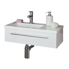 Puris For Guests Möbelwaschtisch und Waschtischunterschrank 60 cm