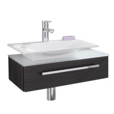 Puris For Guests Aufsatzwaschtisch und Waschtischunterschrank 66 cm