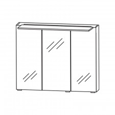 Puris Fresh Spiegelschrank - 70 cm Skizze Serie E