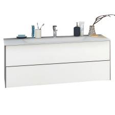 Puris Ice Line Waschtisch mit Unterschrank - 122 cm